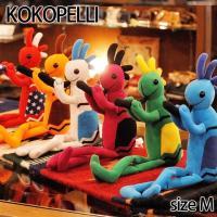 Kokopelli ココペリベーシック ココペリフラッグ ドール 人形 ココペリ Mサイズ ネイティ...