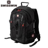 swisswin リュック リュックサック メンズ レディース 大容量 通学 ビジネス 通勤 アウトドア 旅行 遠足 登山 リュック バックパック デイパック SW9972
