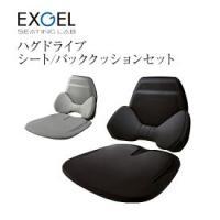 加地 エクスジェル ハグドライブ シート&バッククッションセット HUD01_02 1セット
