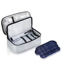 【2018年最新 ALLCAMP 【糖尿病】 インスリンポーチ 保冷 携帯 に 便利 旅行 アウトドア 大容量 多機能 付属品:4*保冷剤 倍速凍結
