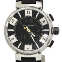 ルイヴィトン腕時計の代表モデル「タンブール」。フランス語の「太鼓」を意味するその名前の通り、緩やかで...