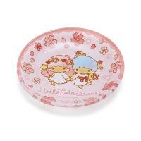 リトルツインスターズ ガラス豆皿(桜)
