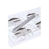 軽くて丈夫なアルミ製 図面の寸法確認やDIY工作にも使える コンパクトサイズ150mm スケール6種...