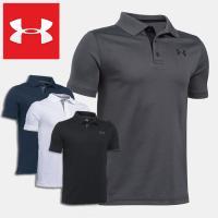 アンダーアーマー ポロシャツ 半袖 4WAYストレッチ ジュニア UNDER ARMOUR Performance Polo  Golf Short Sleeve Shirt UPF30+ 1290341  スポーツ