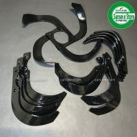 ヤンマー 管理機 の耕うん爪 16本組セットです。 東亜重工製のナタ爪です。 適用型式、ロータリー形...