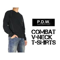 40%OFFセール AVIREX アビレックス PDW コンバット VネックTシャツ 6643004 送料無料