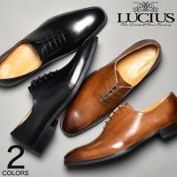 12月新作  プレーントゥ内羽根レースアップビジネス革靴。  ホールカットデザインが特徴的な1足。 ...