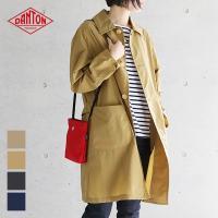 上品なつやとシャリ感のある 爽やかなスプリングコート。 薄手でサッと羽織りやすく、季節の変わり目に気...