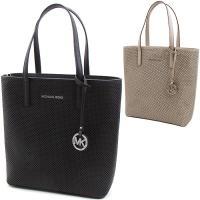 デイリースタイルに、容量もたっぷりな使い勝手の良いバッグです。パンチング加工を施したレザーにブランド...