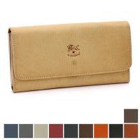 丈夫でしなやかな天然革を使用した、イルビゾンテの長財布です。収納スペースが豊富ながら、カード入れ部分...