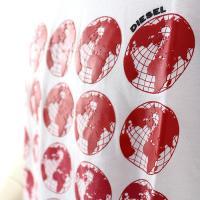 ディーゼル DIESEL T-JOE-SC デザインTシャツ 00S9QX 0091B
