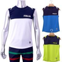 【ViTA LiBERA】 スリーブレスシャツ   ・接触冷感素材を使用。背中のベンチレーション切り...