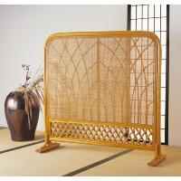 籐(ラタン)スクリーン 籐の衝立 小 透かし模様も豪華で美しい藤の衝立です。すっきりしたデザインと、...
