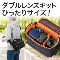合計5,000円以上お買い上げで送料無料! 一眼カメラ本体と交換用レンズ収納が可能で、ダブルズームキ...