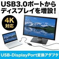 合計5,000円以上お買い上げで送料無料! USBからDisplayPortに変換してディスプレイを...