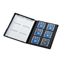 合計5,000円以上お買い上げで送料無料! メモリーカードの管理・保存に便利なDVDトールケースタイ...