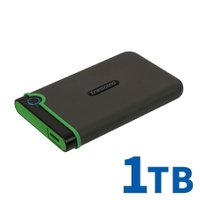 外付けHDD 1TB ハードディスク HDD ポータブル テレビ録画 TV 録画 対応 トランセンド Transcend 耐衝撃