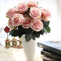 【品名】:飾り用造花      【素材】:絹 【カラー】:全10色 【サイズ】:全長45cm  花の...