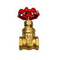 黄銅製の汎用ゲートバルブ(耐水圧 : 1.25Mpa/ネジ : Rc1/2)です。  エコ配のご利用...