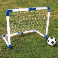 スーパーサッカーゴールセットが入荷しました!!かんたん組み立て、とっても軽い、お手軽なサッカーゴール...