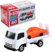 いすゞの車両運搬車エルフがトミカになりました! 初回特別仕様にはいすゞのベレットが積載されていて積み...