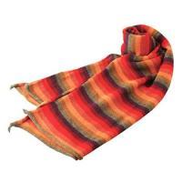 ●翌日配送可能 ●アルパカ毛100% ●長さ約148×45cm ●ペルー製 ※アルパカ製品は手作りの...