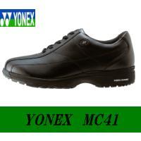送料無料 YONEX.ヨネックス.パワークッション.MC41.メンズ.ウォーキングシューズ.紳士靴....
