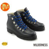 メレル ウィルダーネス WILDERNESS 1015 ブラック メンズ レディース ワーク ブーツ 本革 トレッキング キャンプ 黒 23cm〜28cm