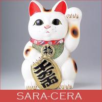 ★内容:白小判猫5号左手 貯金箱  ★サイズ:11×10×16cm ★陶器、日本製/常滑焼  ※7号...