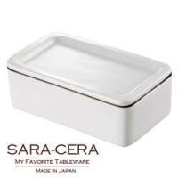 ★内容:バターケース ホワイト ★サイズ:W140×D84×H50mm/320ml ★素材:磁器、シ...