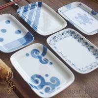 使いやすい食器のジャパンブルー 藍染絵変りです なんといっても魅力ある藍染付けです 贈り物に食器をど...