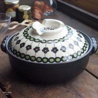 大人気の美しいボレスワヴィエツの街シリーズに、土鍋が新登場! 北欧調の大人かわいい柄が食卓のアクセン...