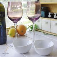 ホームパーティやワインパーティに最適! テーブルに彩をそえること間違いなしです!! グラスがお洒落だ...