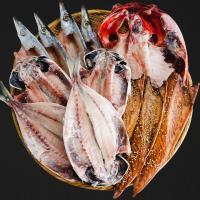 伊豆・伊東の干物を代表するトロあじ(真鯵)と金目鯛を 当店の最高級ライン、平蔵の干物よりセレクト。 ...