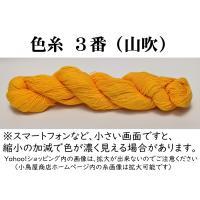 刺し子糸 【小鳥屋オリジナル】 (山吹-色番号3)