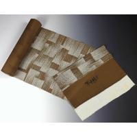 フルオーダー手縫いお仕立て込み反物購入可能 京都魔法の染物「夢黄櫨染」 丹後ちりめん 小紋 かすり染め 茶系色