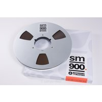 ハイ・バイアスのプロ用1/2インチ幅(ハーフインチ)オープンリールテープ『SM900』です 音楽スタ...