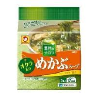 【※ya】 マルちゃん めかぶスープ オクラ入り(5g×5食入)|scbmitsuokun1972