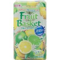 フルーツバスケット 消臭 レモン&ライム 12ロール ダブル
