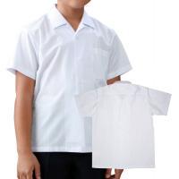 開襟の襟元で涼しい。袖口はボタンが2つでサイズ調節可能。  ■素材:ブロード  ■混率:ポリエステル...