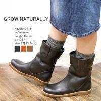 ブランド:GROW NATURALLY(グロウナチュラリー) 素材:レザー サイズ: 36(23cm...