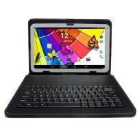 電話SMS対応Android 10.1インチタブレットPC対応レザーキーボード付ケース Androi...
