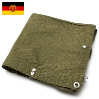 セール中 東ドイツ軍 レインドロップカモ テントシート USED