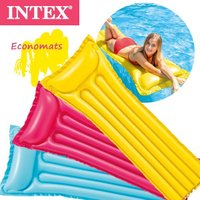 (パケット便送料無料)INTEX(インテックス) エコノマット 59703(浮き輪/フローティングマット/エアーマット)