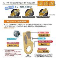 PRESS CONTROL(プレスコントロール)アシマル ハーフ&ローパンプス&ブーツ【中敷き/衝撃吸収】PN63