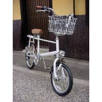 ◆即日発送可能◆限定1台◆レトロポップ自転車◆GRQ Pico◆White/Brown◆|searchlight