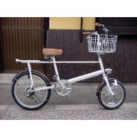 ◆即日発送可能◆限定1台◆レトロポップ自転車◆GRQ Pico◆White/Brown◆|searchlight|03