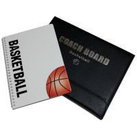 バスケ用のコンパクトな折りたたみ式作戦ボード(バスケノート1冊付) 内容:折りたたみ作戦盤、マグネッ...