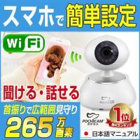 ポチカメシリーズ、可愛い室内用防犯カメラ「SC-533NH」です。 新機能 プリレコード録画機能を搭...