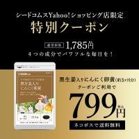 にんにく卵黄 黒生姜入り にんにく卵黄+山人参カプセル 約3ヵ月分